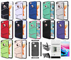 "Slim Hybrid Dual Layer Case for iPhone 8, iPhone 7 (4.7"") and Screen Protector"