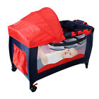 Portable Infant Child Baby Playard Travel Cot Bedding Playpen Bassinet Entryway