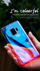 Slim PC Case for S9 S9+ S9 Plus Shiny Glaze Color Changing Simple  Galaxy Case
