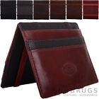 Mens / Gents Soft Leather RFID Protected Credit Card / Travel Card / ID Holder