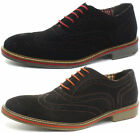 Roamers 5 Eye Mens Oxford Brogue Shoes ALL SIZES AND COLOURS