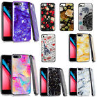 For Apple iPhone 8 & 8 PLUS HYBRID IMPACT Gel Fusion Hybrid Case + Screen Guard
