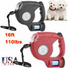 16ft Automatic Retractable Pet Dog Traction Rope Walking Lead Leash Heavy Duty H