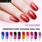 Coscelia Temperature Changing Color 8ml Soak Off Gel Polish UV LED Top Base Coat