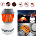 Solar Powered Panel IP67 Waterproof Outdoor LED Insect Mosquito Killer 5V Lamp