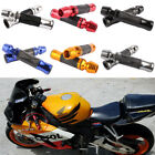 "Motorcycle Naked Supersport Bike 7/8"" Rubber Handlebar Hand Grips Throttle Grips $16.56 USD on eBay"