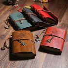 1PC PU Leather Handmade Journal Memo Notebook Paper Notepad Blank Pirate Compass