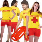 Ladies Mens Lifeguard fancy dress Beach Hen Stag Baywatch style costume outfit