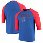Chicago Cubs Majestic This Season 3/4-Sleeve Raglan T-Shirt - Royal on Ebay