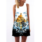 Women Lady Tank Top Mini Dress Floral Summer Casual Prom Party Loose Tunic Shirt <br/> 48 Patterns✔1000+ Sold✔Fashion &amp; Stylish✔Size S-XXL✔