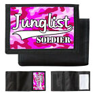 Junglist Soldier Camouflage Wallet Stevie Hyper D Old Skool Rave Drum & Bass DNB