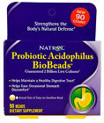 NATROL VITAMINS PROBIOTIC ACIDOPHILUS BIOBEADS-NEW-FRESH-