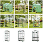 Glitzhome Walk In Greenhouses PE PVC Cover Outdoor Garden Plant Shed Heavy Duty