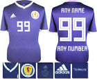 PERSONALISED - SCOTLAND HOME 2018 ADIDAS SHIRT SS = ADULTS