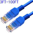 CAT 6 Ethernet Cable (3-100 FT) LAN, UTP CAT6,RJ45,Network,Patch, Internet Cable