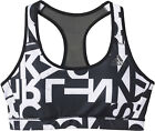 ADIDAS Climacool Typo Racer Back Crop Sports Bra in Black (rst90)