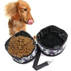 Dog Double Bowl Pet Bowl Puppy Food Bowl Waterproof Food Feeder Supplies 1 Set