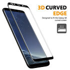 3D Curved Premium 9H Tempered Glass Front Screen Protector For Samsung Galaxy S8
