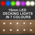 20 x 15mm LED Deck/Decking/Plinth/Kickbo...
