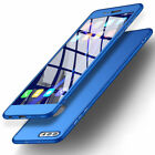 For Huawei Honor 9 8 Lite 6X 7X 360° Full Protect Hybrid Case + Tempered Glass