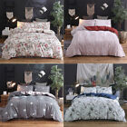 Floral Printed Bedding Set Duvet Cover Pillow Case Quilt Cover King Queen Full image