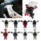 Gravity Car Phone Holder Air Vent Mount Stand for iPhone 7 8 Samsung S9 S9+