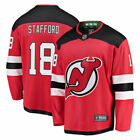 Drew Stafford New Jersey Devils Fanatics Branded Home Breakaway Player Jersey