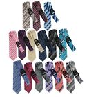 Внешний вид - Men Tie Mens Ties Satin Stripe Necktie Formal Classic Fashion Novelty and More s