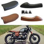 Vintage Cafe Racer Flat&Hump Saddle Seats For Honda CB Triumph Bonneville BMW GS $44.35 USD on eBay