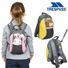 Trespass Cohort Kids 5 L Rucksack with Safety Rein & Toy To School Nursery