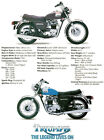 1978 Triumph Bonneville 750 - Promotional Advertising Poster $14.99 USD on eBay