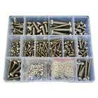 G304 Stainless M4 M5 M6 M8 Pan Machine Screw Nut Washer Assortment Kit #48