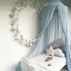 Baby Crib Mosquito Net Infant Nursery Netting Dome Folding Summer Canopy Bedding image
