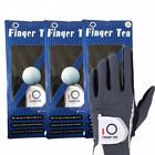 Golf Glove Rain Grip Men's Fit Left Hand For Right-Handed Golfer 3 Pack US Stock