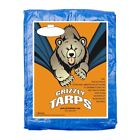 Kyпить Grizzly 5Mil Tarps Heavy Duty Waterproof Tarp - Camping/Boats, Blue на еВаy.соm