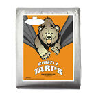 Grizzly 10Mil Tarps Heavy Duty Waterproof Tarp-Camping/Boats, Silver