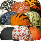 Black Motorcycle Wrap Biker Hat Do Sold Bandana Doo Rag Du Head Skull Cap Lot