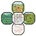 Simpa® Children's Play Tray Mat Insert: ABC, Dinosaur, Builders, Park & Unicorn