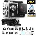 "Camara DEPORTIVA 4K Ultra HD WIFI 2"" sumergible con kit de accesorios 30m IOS AN"
