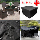 S M L Size Garden Patio Furniture Set Waterproof Rattan Cube Table Cover Outdoor