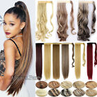 Hair Wrap Ponytail Piece Clip in on Pony Tail Hair Extensions AS Human Made FT4