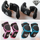 4pk BMX Bike Knee Pad Safety Kid Child Elbow Guard Protective Scooter Skateboard