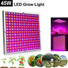 45W LED Grow Light Panel Red Blue Spectrum For Hydroponic Indoor Plant Veg Bloom