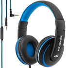 Audiance A2 Premium Over Ear Headphones, Noise Isolating Headset with Microphone