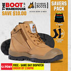 Mongrel 461050 'SUPER SAVER' Men's Work Boots. Steel Toe Safety. Zip. Scuff Cap