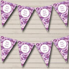 Purple Camouflage Personalized Carnival Fete Street Party Bunting Flag Banner