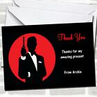 James Bond Special Agent Party Thank You Cards $29.95 USD on eBay