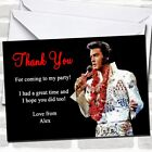 Elvis Presley Red Party Thank You Cards