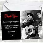 Elvis Presley Party Thank You Cards