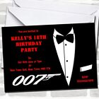 James Bond Theme Party Invitations $16.95 USD on eBay